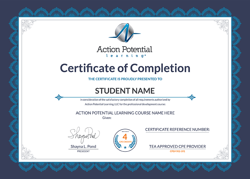 Continuing education for teachers certificate template ming yadclub Image collections