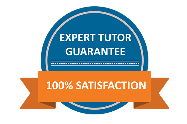 Expert Tutor Guarantee
