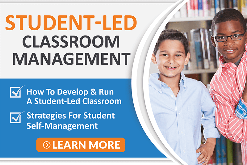 Student led classroom management icon min