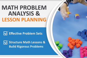 MATH PROBLEM ANALYSIS AND LESSON PLANNING