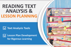 READING TEXT ANALYSIS AND LESSON PLANNING